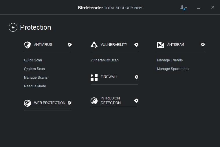 Bitdefender Total Security: všechny ochranné moduly na jednom místě