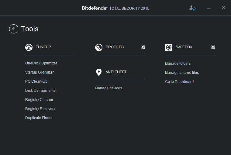 Bitdefender Tools aneb optimalizační fičury se nevyhnuly ani Bitdefenderu