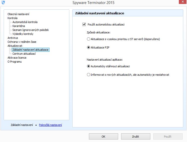 Spyware Terminator - nemožnost normálně aktualizovat coby trest za používání bezplatné verze