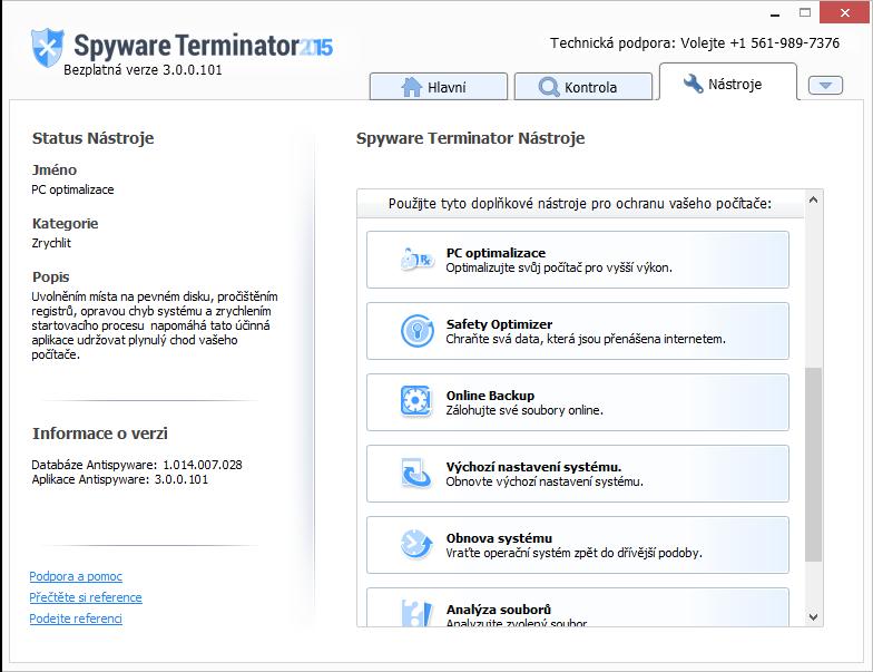 Spyware Terminator - nenaplněný příslib bezpečnostních doplňků