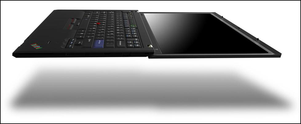 Při váze dané tloušťkou 18 milimetrů bude klasický ThinkPad blahem levitovat