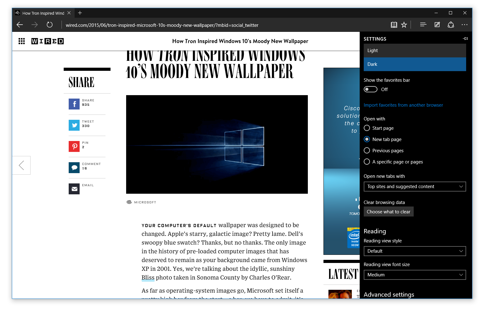Microsoft Edge se po implementací základních fičur stane skutečným konkurentem ostatních browserů Velké pětky