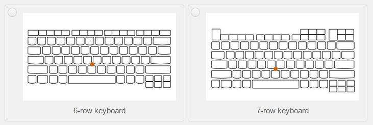 Retro ThinkPad: rozdíl konceptů šestiřádkové a sedmiřádkové klávesnice