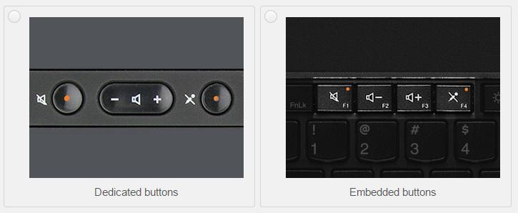 Retro ThinkPad: ovládání mikrofonu a hlasitosti