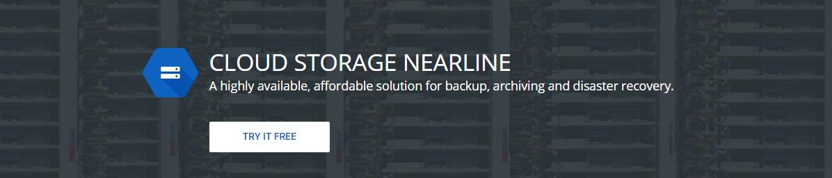 Google Cloud Storage Nearline: obrovské objemy dat přístupné v řádu sekund