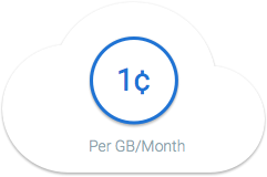 Google Cloud Storage Nearline: cloud za penny za gigabajt na měsíc