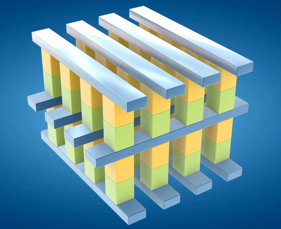 3D XPoint: křížová matice