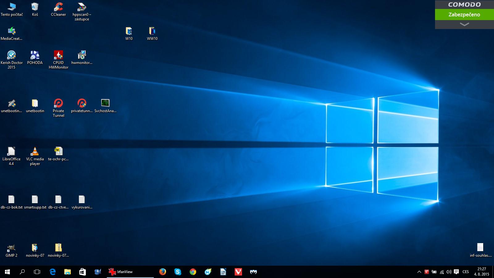 Nový operační systém Windows 10 již očekává svého uživatele