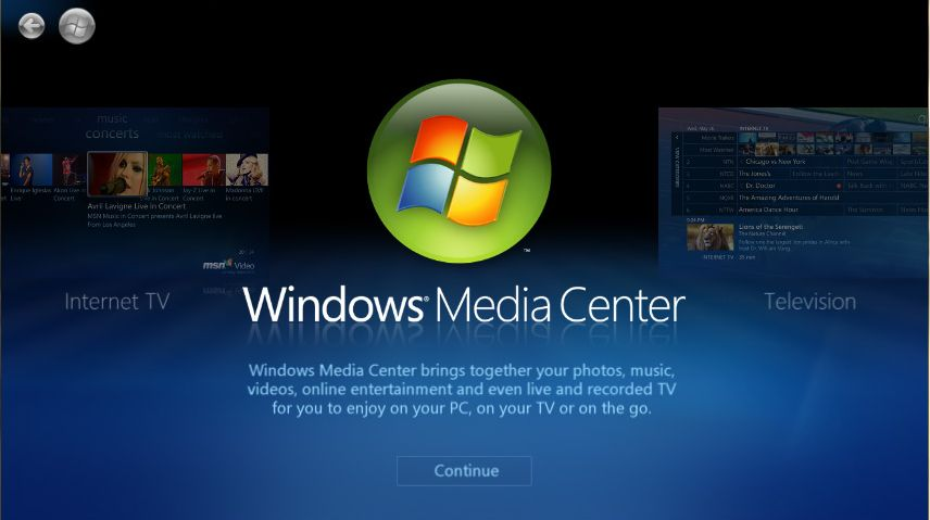 Windows Media Center - neopuštěný fanoušky ani ve Windows 10