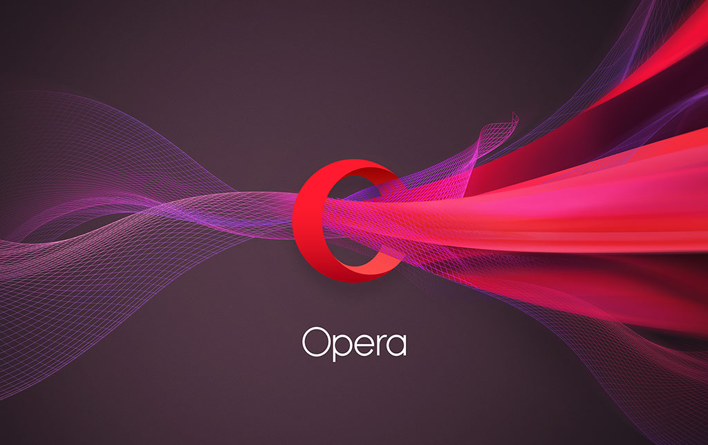 Vizualizace tříprostorového rozmachu Opera do všech stran