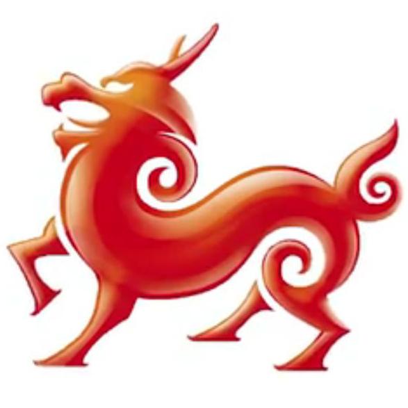 Ikona NeoKylin symbolizuje štěstí, dlouhověkost a především moc těch, kteří za systémem skutečně stojí - tedy čínské vlády