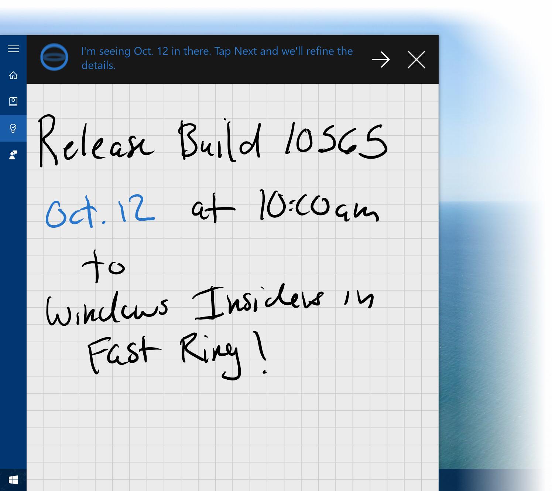 Cortana nyní rozumí i ručním poznámkám - a to i těm od Gabea Aula:)
