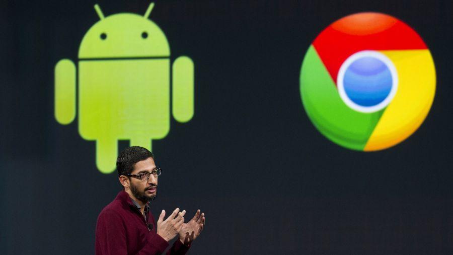 Sloučení vývoje obou operačních systému pod Sundara Pichaie předznamenalo i faktické sloučení Chrome OS a Androidu