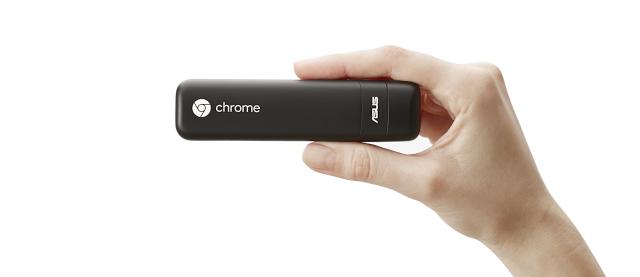 Jedno z partnerských zařízení poháněných Chrome OS