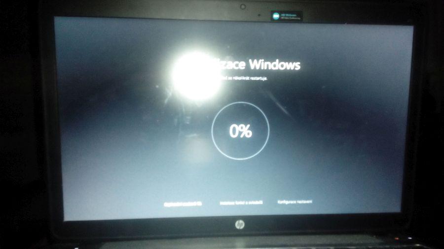 Tenhle nulový stav Aktualizace Windows svítil až nepříjemně dlouho