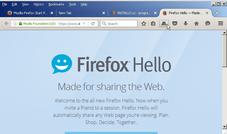 Synchronizace panelů napříč zařízeními je další funkci Firefox 45