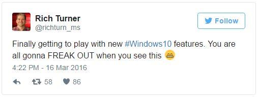 Konečně jsem se dostal k tomu, abych si prohrál s novými fičurami Windows 10. Všichni z nich budete naprosto na větvi, až je uvidíte.
