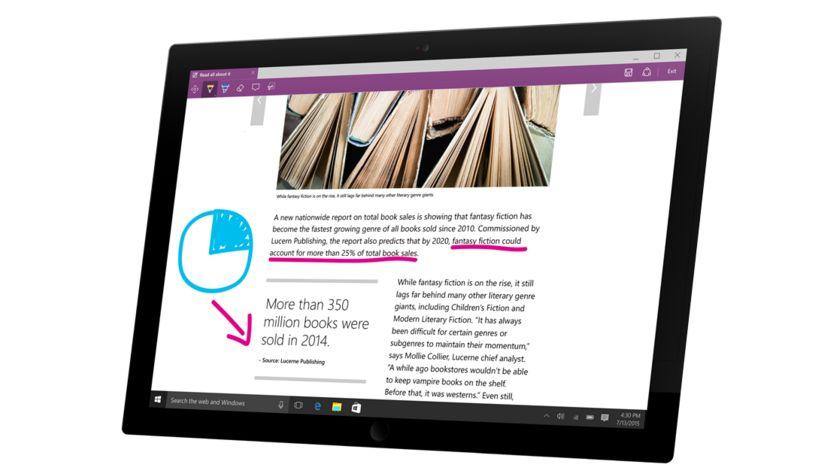 Microsoft Edge bude umět víc než jen Windows Ink a autentizaci pomocí Windows Hello