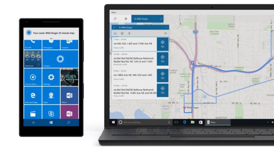 Co na desktopu, to na mobilu - v tomto případě navigační pokyny