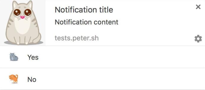 Jedna z možných podob nových notifikací Google Chrome