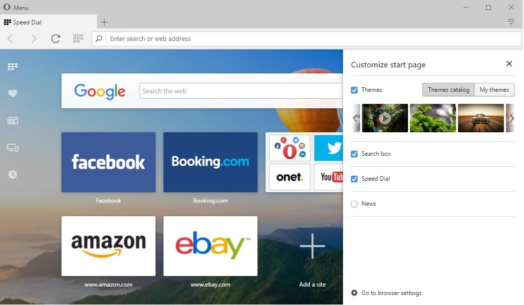 Opera láká na podporu již zastaralých systémů