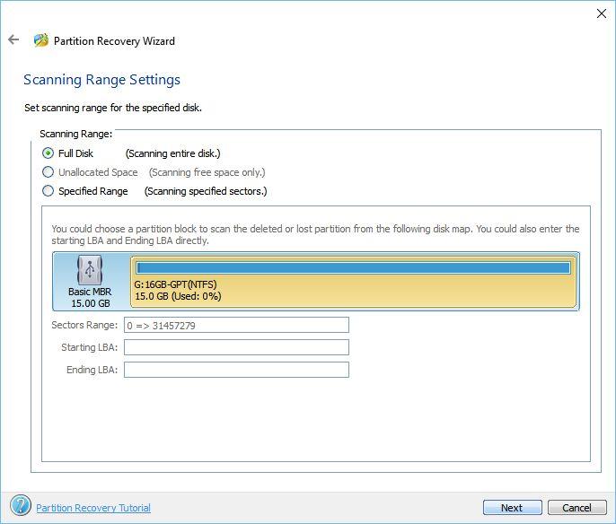 MiniTool Partition Wizard: obnova ztracených diskových oddílů