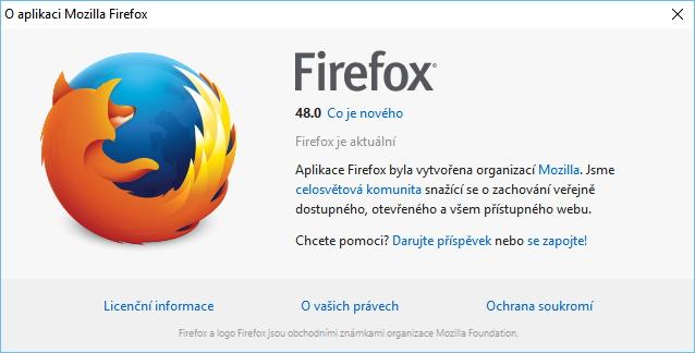 Firefox 48 konečně ve znamení novinek a změn