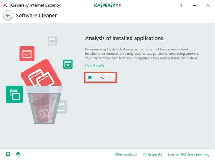 Software Cleaner je další metlou na potenciální zranitelnosti systému