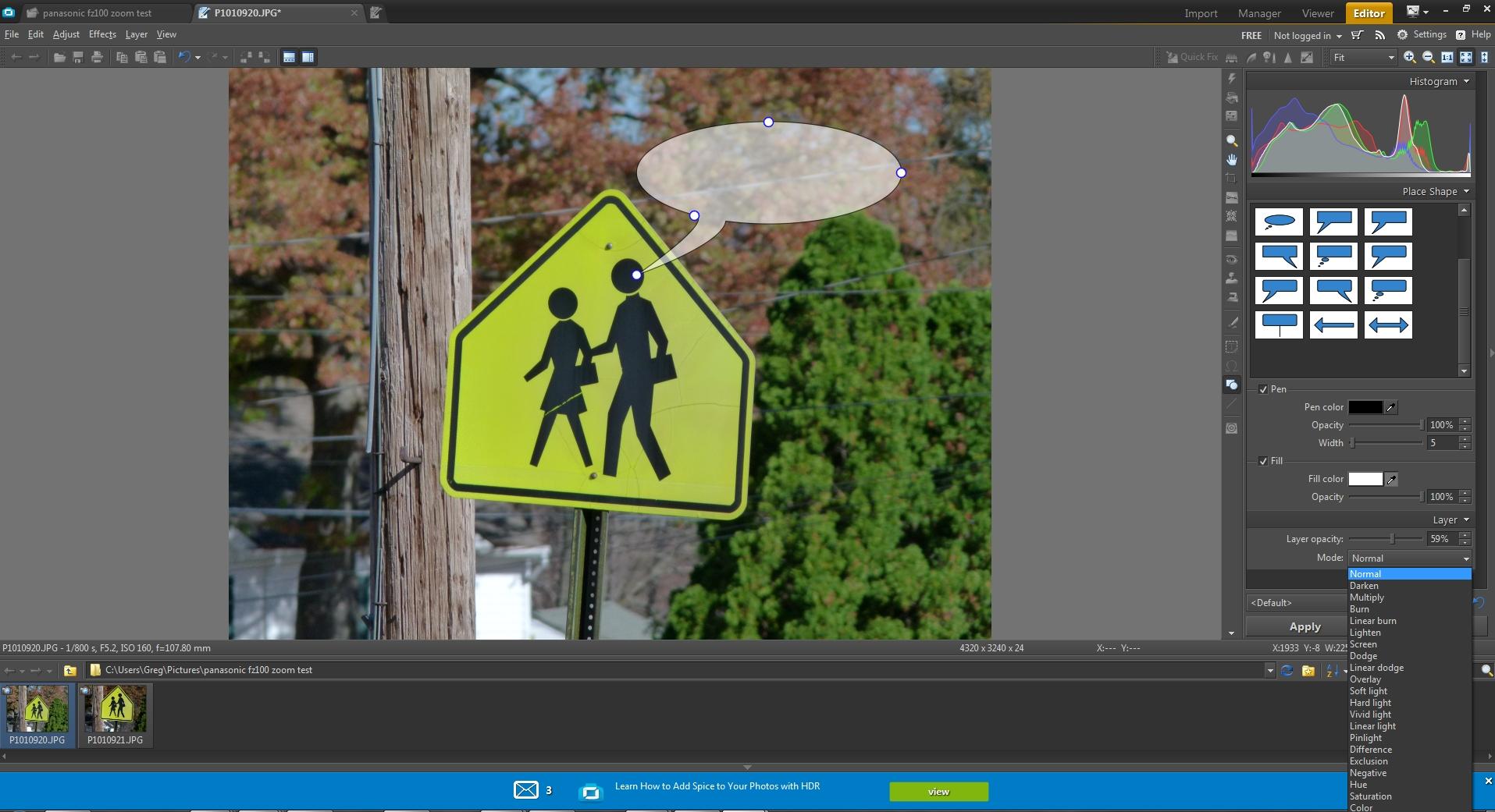 Zoner Photo Studio X přináší konečně i práci s vrstvami