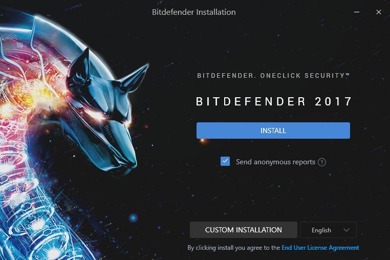 Bitdefender Internet Security: instalaci jde v rychlosti odkliknout, nebo podrobně nastavit