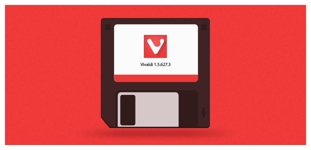 Budoucí aktualizace Vivaldi by se měly vejít i na staré 3,5palcové diskety - tedy do 1,44 MB