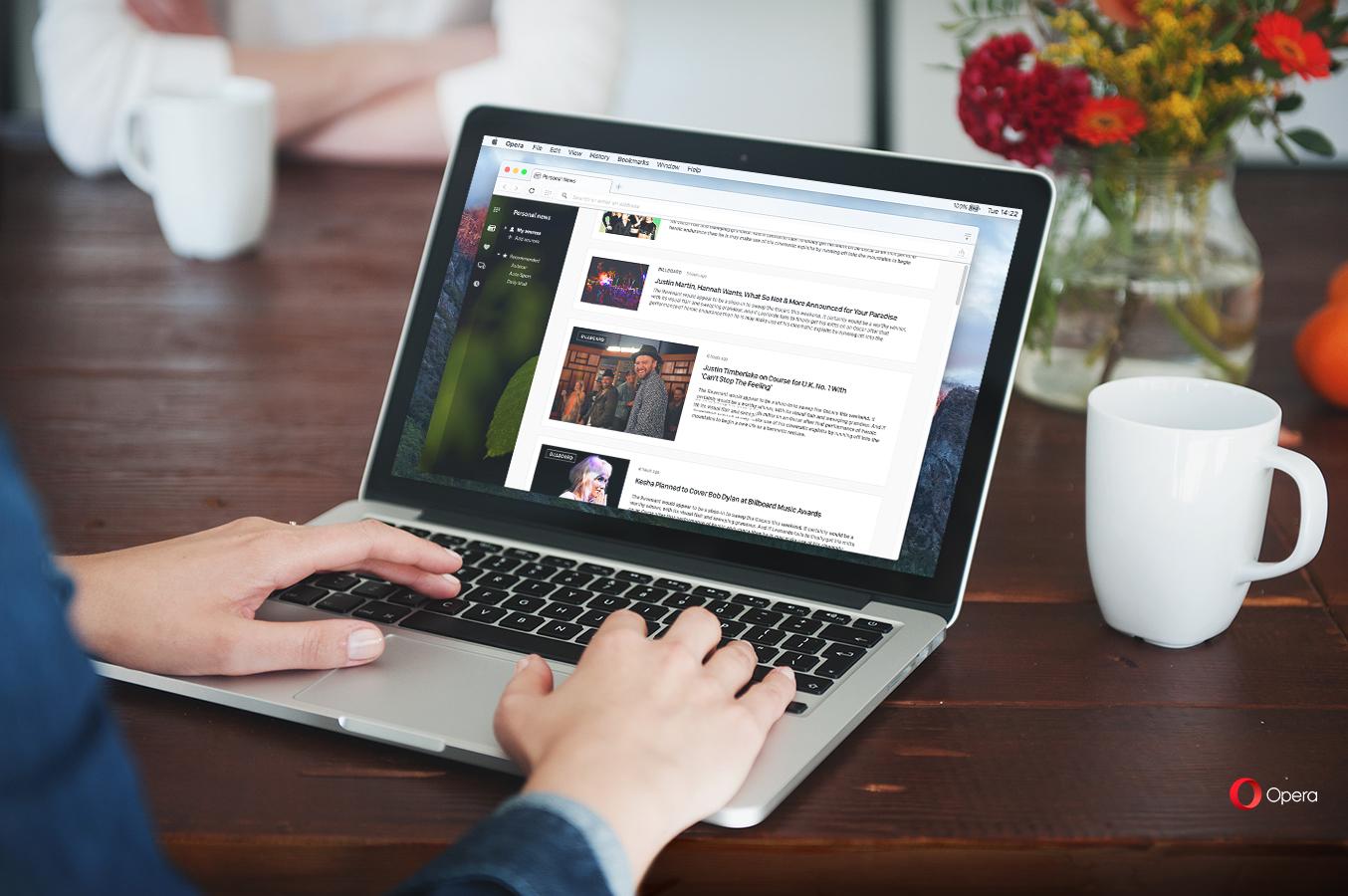 Čtečku zpráv si v Opeře může každý plnou měrou přizpůsobit a udělat z ní RSS čtečku vlastních zdrojů