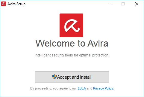 Avira Free Security Suite nevyžaduje žádná upřesnění instalace