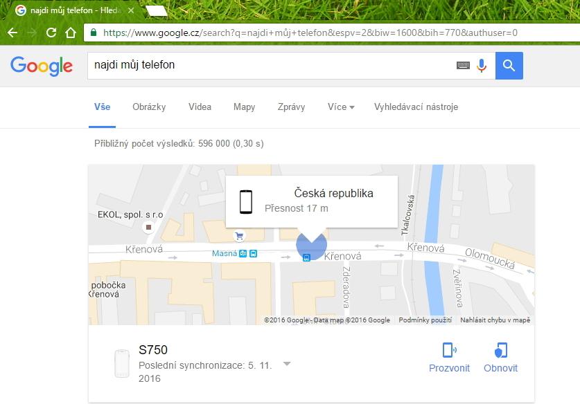 Google a Android jsou nerozlučná dvojka v hledání telefonu