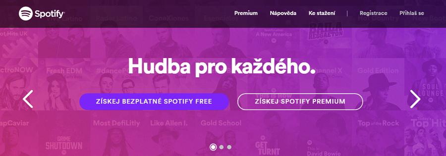 Spotify v nové verzi už prý masivně nezapisuje na disk