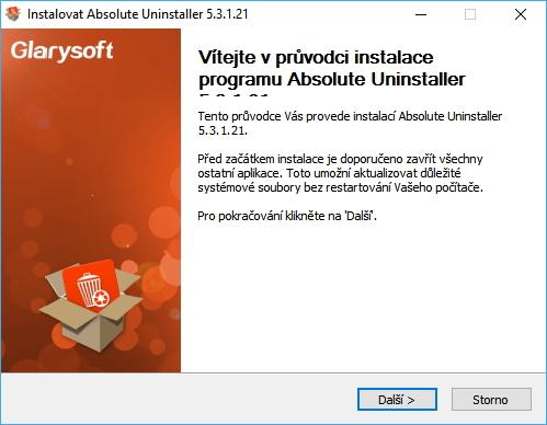 Instalátor dává tušit, že program by mohl být v češtině - minimálně správně detekuje systémový jazyk