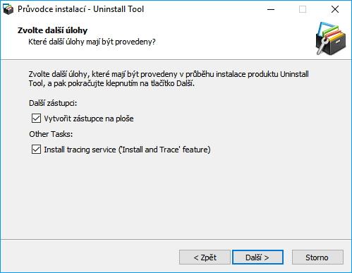 Uninstall Tool - nezapomeneme zapnout funkci monitorování instalací v systému