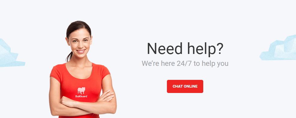 Nabídka neustálé pomoci je v případě BullGuard důvěryhodná - i vyzkoušená :)