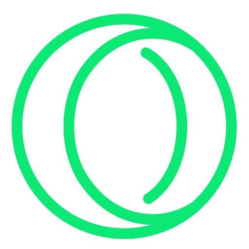 Neonové logo nového Opera Neonu