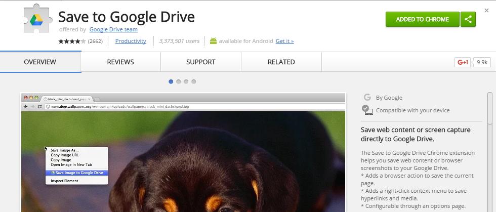 Save to Google Drive sice nabízí internetový obchod Chrome, nainstalovat ovšem lze třeba i do Vivaldi
