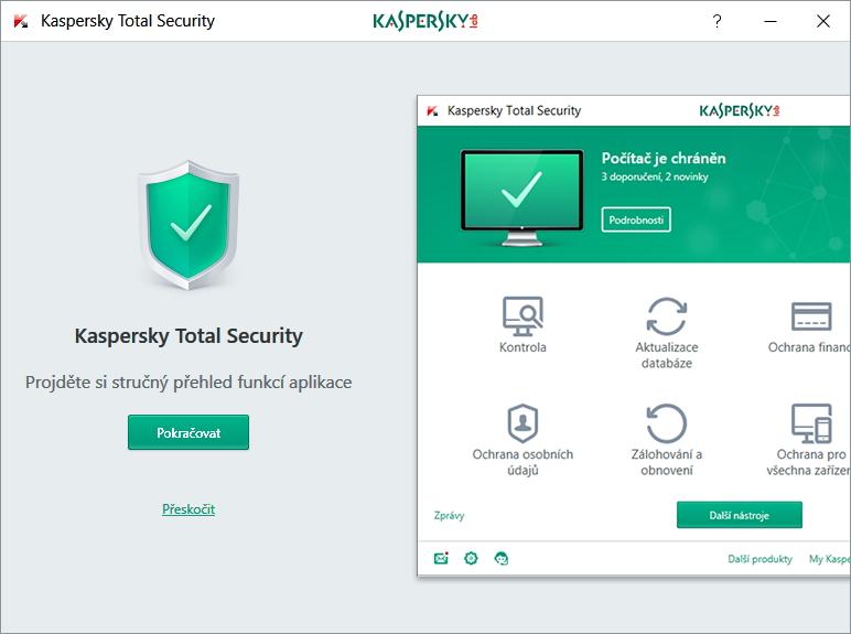 Jednoduchý průvodce základními funkcemi Kaspersky Total Security