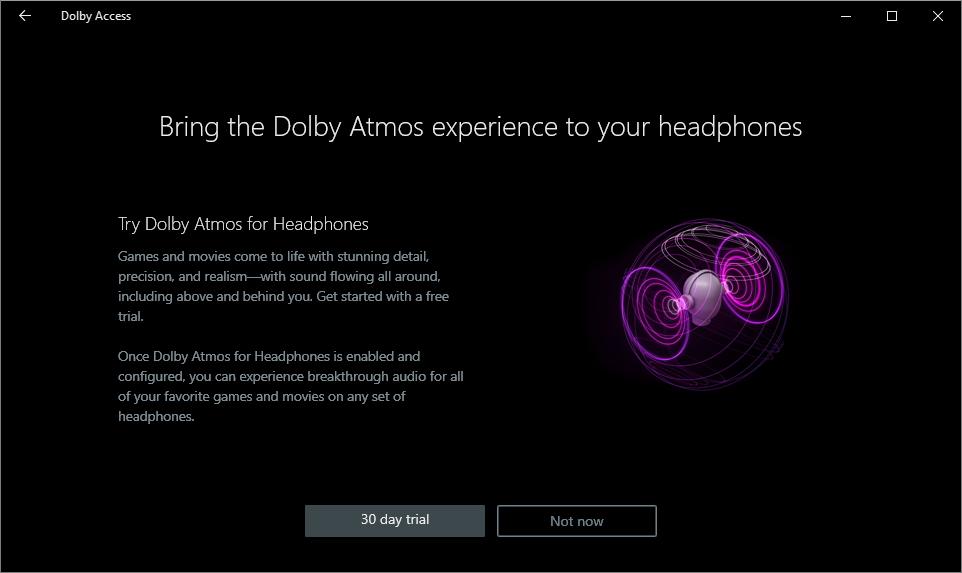 ...a Dolby Atmos máme na 30 dní zdarma