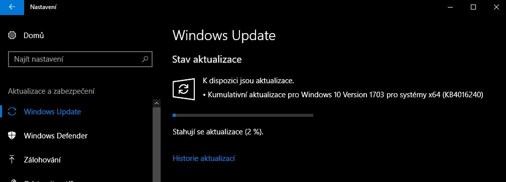 Už se stahují aktualizace, jež Windows 10 po Creators Update opraví...