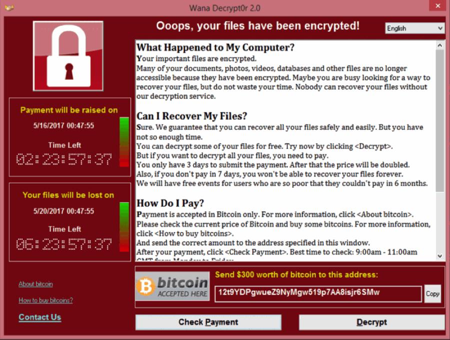 Wana Decryptor 2.0: zosobnění WannaCry v uživatelském systému