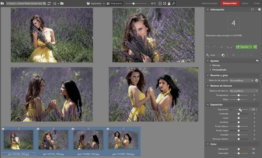 Hromadné úpravy výrazně zrychlí modifikace snímkových setů