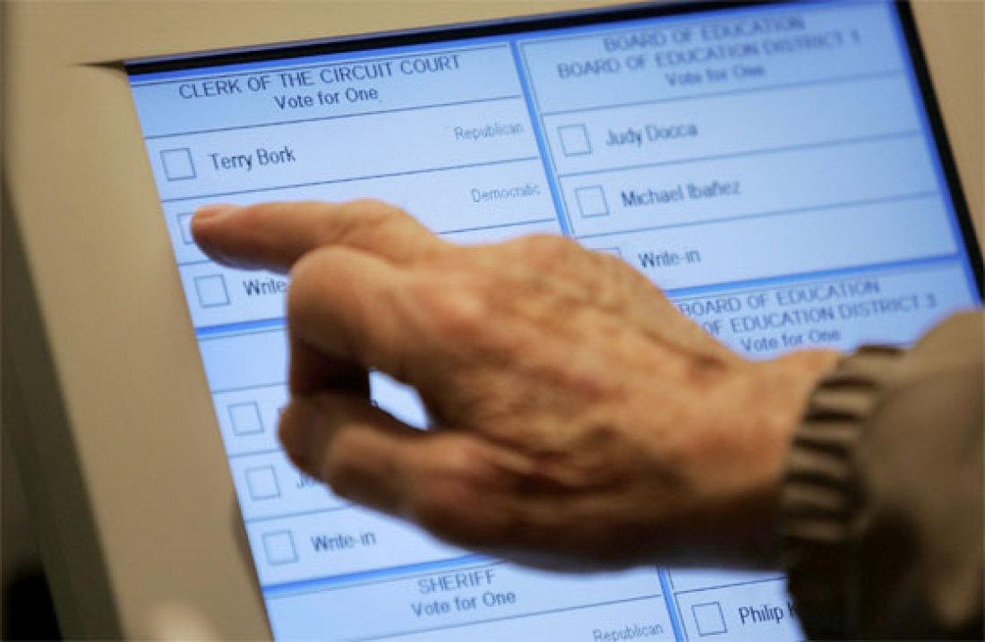 Jedním z vrcholů eGovernmentu by mohly být i volby realizované přes internet
