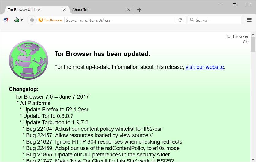 Seznam změn Tor Browseru 7.0 je opravdu dlouhý, těch podstatných je ale jen pár