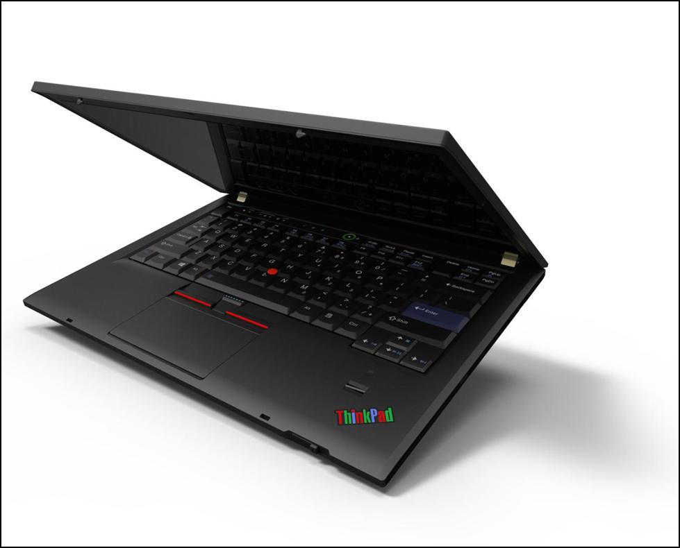 Jedna z nejpopulárnějších verzí ThinkPadu X300 se zaoblenými hranami