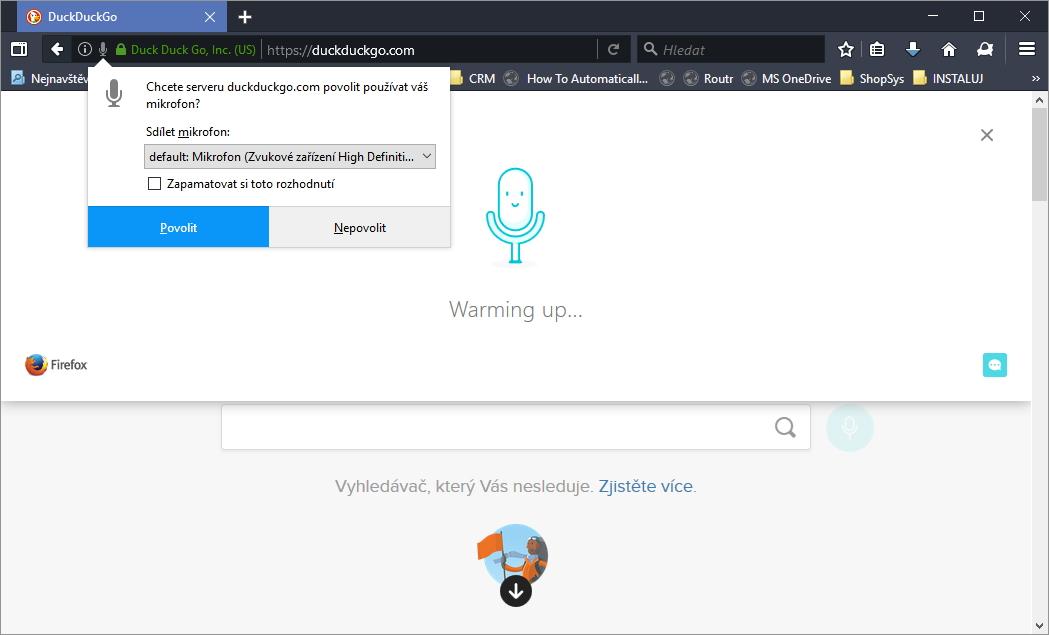 Voice Fill pomůže s hlasovým zadáváním do vyhledáváčů