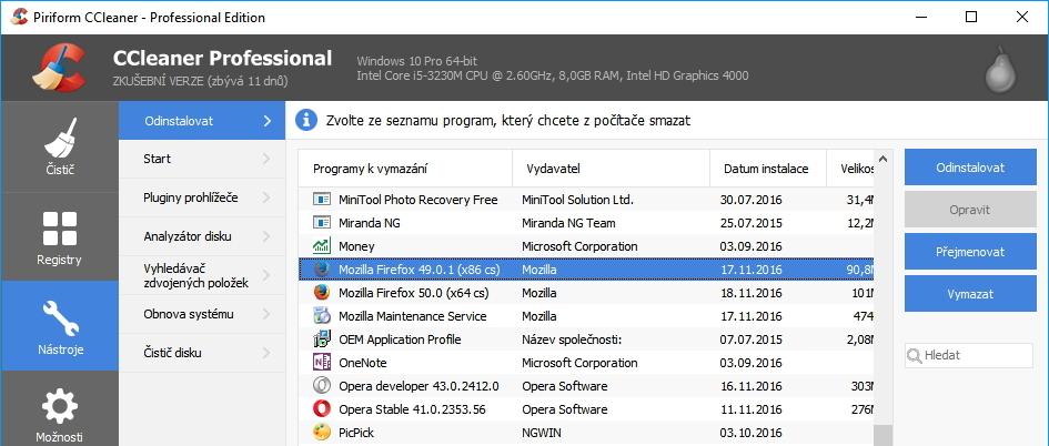 Distribuční proces instalátorů aktualizací CCleaneru byl kompromitován a distribuovaný software trojanizován